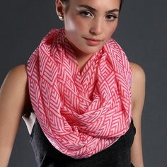 🍂LAST ONE  LIGHTWEIGHT INFINITY SCARF LIGHTWEIGHT INFINITY SCARF-CORAL WHITE BRAND NEW. PERFECT FOR ALL SEASONS. ALSO ITS LIGHTWEIGHT. PERFECT FOR TRAVEL, OFFICE, SCHOOL AND MUCH MORE. Accessories Scarves & Wraps