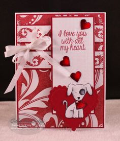 Sweet 'n Sassy stamp sets used: Valentine Critters