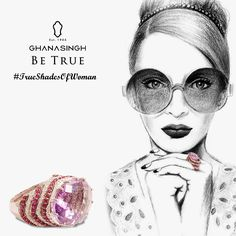 Purple amethyst for the rebellious you! Is that your color? ‪#‎TrueShadesOfAWoman‬