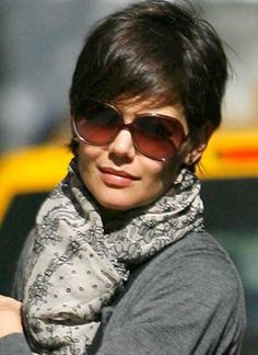 Image result for katie holmes pixie cut