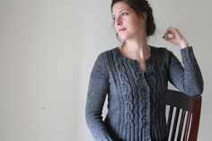 Finally bought the pattern for the Acer Cardigan today.  I've commissioned some Miss Babs' worsted weight for this project.  I can't wait to get my yarn!