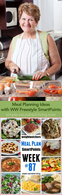 Easy + Healthy WW Friendly Meal Plan Ideas with WW Freestyle SmartPoints - Simple-Nourished-Living.com