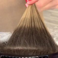 Fall Hair Color For Brunettes, Hair Color Dark, Blond Ombre, Brown Blonde Hair, Medium Blonde, Hair Color Formulas, Hair Color Techniques, Blonde Highlights, At Home Highlights