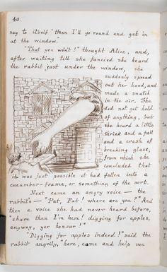 Alice's Adventures in Wonderland: from the original manuscript - The British Library