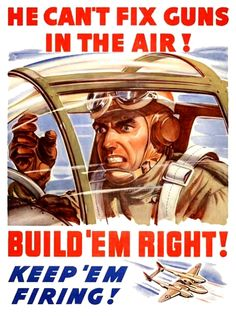 De l'importance de la qualité de la production. USA  WW2