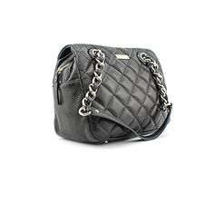 Women's Top-Handle Handbags - kate spade new york Gold Coast Elizabeth Quilted Satchel Black *** Read more at the image link.