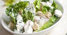 Salát s modrým sýrem recept   sRecepty.CZ