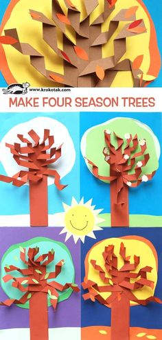 krokotak |  Make Four Season Trees!