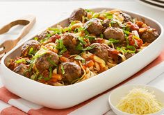 Lamb Meatballs and Mint Ragu