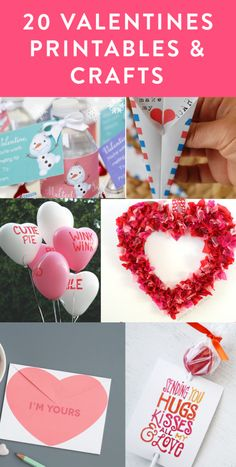 What's Valentines day without some cute printables? Check out all these cute posters, labels and more! Once you are done checking out the printables, enter the giveaway for a chance to win a … Crafts For Kids To Make, Kids Crafts, Arts And Crafts, Interesting Stuff, Awesome Stuff, Fun Stuff, Diy Craft Projects, Craft Ideas, Valentine's Day Printables