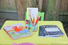 "Taste{Full}: Nadia's ""Chapter 2"" Book Themed Party: Activities."