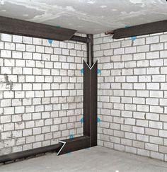 Coffrage cache-tuyau WEDI section 15x15cm long.2,50m - Gedimat.fr