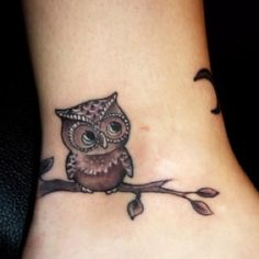 I LOVE THIS OWL TATTO!
