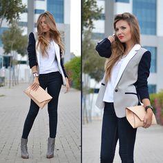 Love the blazer.