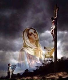 How great Thou Art! For, we shall bow down on our knees, for our Lord Jesus Christ. Jesus Mother, Blessed Mother Mary, Blessed Virgin Mary, Jesus Our Savior, Heart Of Jesus, Pictures Of Jesus Christ, Religious Pictures, Catholic Religion, Catholic Art