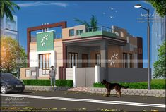 CALL OR WHATSAPP ME :- +919910284217 mail :- asif10760@gmail.com House Outer Design, House Front Wall Design, Single Floor House Design, Bungalow House Design, House Design Photos, Modern House Design, Duplex Design, Building Elevation, House Elevation