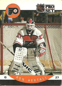 NHL Pro Set 1990 Hockey Trading Card #216 Ron Hextall #27 Philadelphia Flyers on eBid Canada $0.75