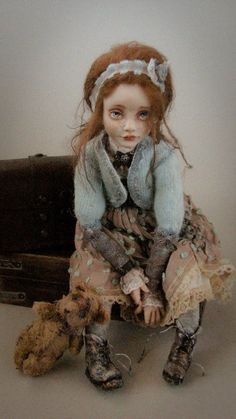 polymer clay doll artists - Google Search