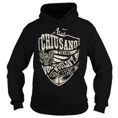 Its a CHIUSANO Thing (Eagle) - Last Name, Surname T-Shirt
