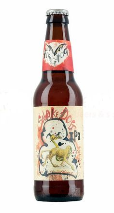 Flying Dog Snake Dog IPA, India Pale Ale 7.1% ABV (Flying Dog Brewery, USA) [marzo 2016]