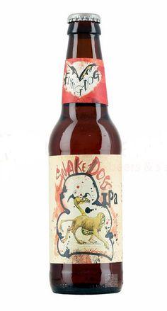 Flying Dog Snake Dog IPA, India Pale Ale 7.1% ABV (Flying Dog Brewery, USA) [marzo 2016]