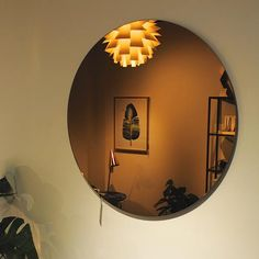 70 cm Round Copper Mirror by Bloomingville http://www.rossandbrownhome.co.uk/home-accessories/mirrors/copper-wall-mirror.html