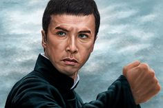 Donnie Yen Painting