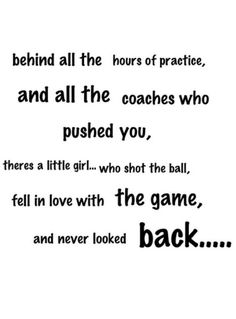Girls Basketball Inspirational Quotes .