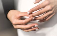 Half Moon Manucure - Nails