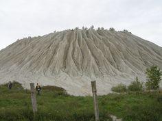 Rummu gritstone cone NW Estonia, Harju Plateau