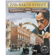 221b Baker Street: Sherlock Holmes' Master Detective Game