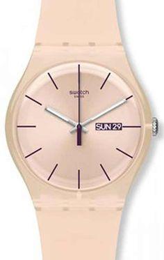 Reloj Swatch mujer SUOT700 Rose Rebel