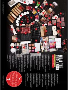Liz Martins - Makeup Artist - What The Pros Carry