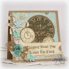 Thinking Around the Clock by byjenn2007 - Cards and Paper Crafts at Splitcoaststampers