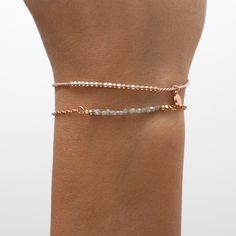 rose gold dipped sterling silver beads mixed with pure silver beads on a light pink silk cord. The beads are moveable on the silk thread. logo charm contains a tiny diamond. Silver Beads, Sterling Silver Chains, 18k Rose Gold, 18k Gold, Raw Diamond, Gold Dipped, Silk Thread, Pink Silk, Cord