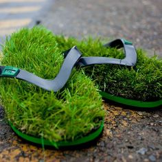 KUSA Originals.  KUSA Grass Thongs (Flip Flops) were launched in late 2011 with immediate, international success.