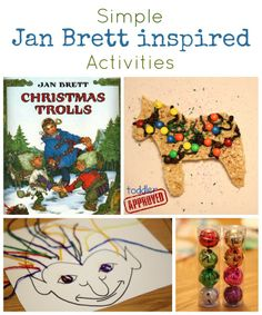 Toddler Approved!: Simple Jan Brett Inspired Activities {Virtual Book Club Blog Hop}