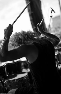 as i lay dying by music tim lambesis  playing drums the legendary mancino motel6ubl