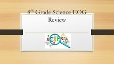 8 th Grade Science EOG Review. Chemistry 8.P.1 8.P.1.1 Classify matter as elements, compounds, or mixtures based on how the atoms are packed together. -  ppt download