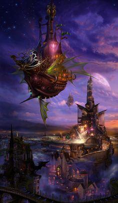 Steampunk fantasy ' ~Kazumasu Uchio'