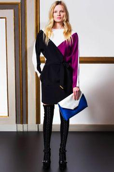 Color block clothes. Like!  2014/2015 Emilio Pucci