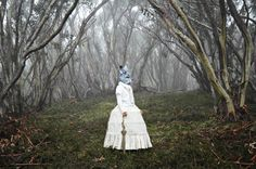 Australian photographer Polixeni Papapetrou has created these fantastical series of images that stir up memories of childhood fairy tales and the magic of imagination. The images shown are from two of Papapetrou's series, entitled The Dreamkeepers and Between Worlds.