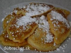 Rýchle lievance Czech Recipes, Russian Recipes, Sweet Desserts, Christmas Cookies, Baking Recipes, Cocoa, Breakfast Recipes, French Toast, Pancakes