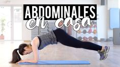 Rutina de abdominales en casa Fitness Diet, Fitness Motivation, Health Fitness, Gym Workouts, At Home Workouts, Fitness Studio Training, Pilates Video, Senior Fitness, Gym Time