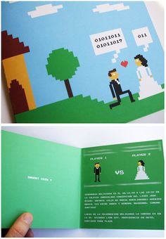 30 Nerdy Wedding Invitations