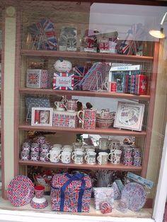 Cranbornes - Shooters Lane, Shaftesbury - shop window - The Queen's Diamond Jubilee