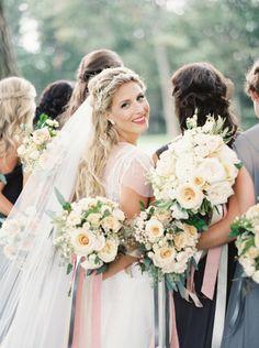 Cô dâu xinh đẹp trong ngày vu quy