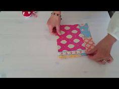 Tuto porte chéquier avec rangements Cartes Fidélités - YouTube Plastic Cutting Board, Diy, Videos, Youtube, Scrappy Quilts, How To Sew, Tricot Facile, Couture Facile, Storage