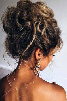 Wedding Hairstyles For Long Hair Hairstyles diy and tutorial for all hair lengths 054 Easy Party Hairstyles, Messy Hairstyles, Wedding Hairstyles, Fashion Hairstyles, Teenage Hairstyles, Curly Haircuts, Bridesmaids Hairstyles, Hairstyles 2016, Hairdos