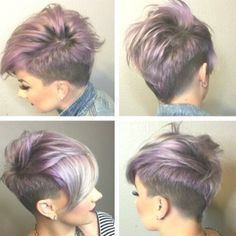 Trendy Asymmetrical, Short Hairstyle – Popular Short Haircuts 2017 – 2017 Source by flaoes Mohawk Hairstyles For Women, Undercut Hairstyles, Straight Hairstyles, Hairstyles 2016, Short Asymmetrical Hairstyles, Woman Hairstyles, Super Short Hairstyles, Easy Hairstyles, Shaved Side Hairstyles